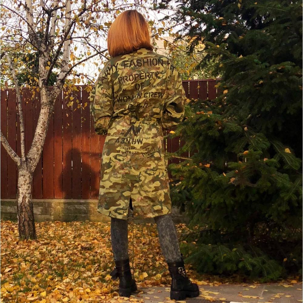 Jacheta Army Oversize Fashion