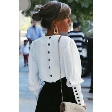 Camasa Alba Buttons