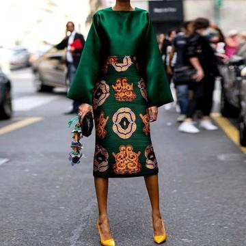 Rochie Midi Emerald