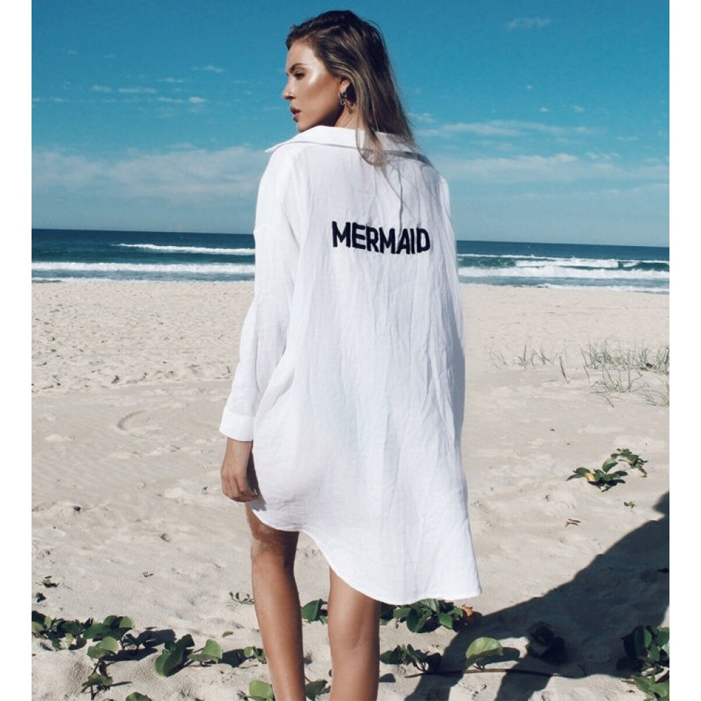 Camasa Alba Mermaid