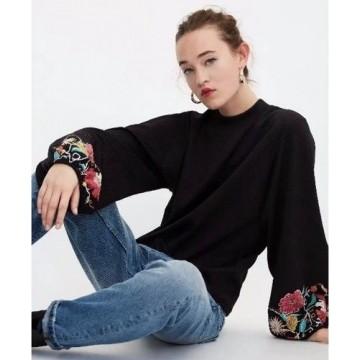 Bluza Neagra Olivia