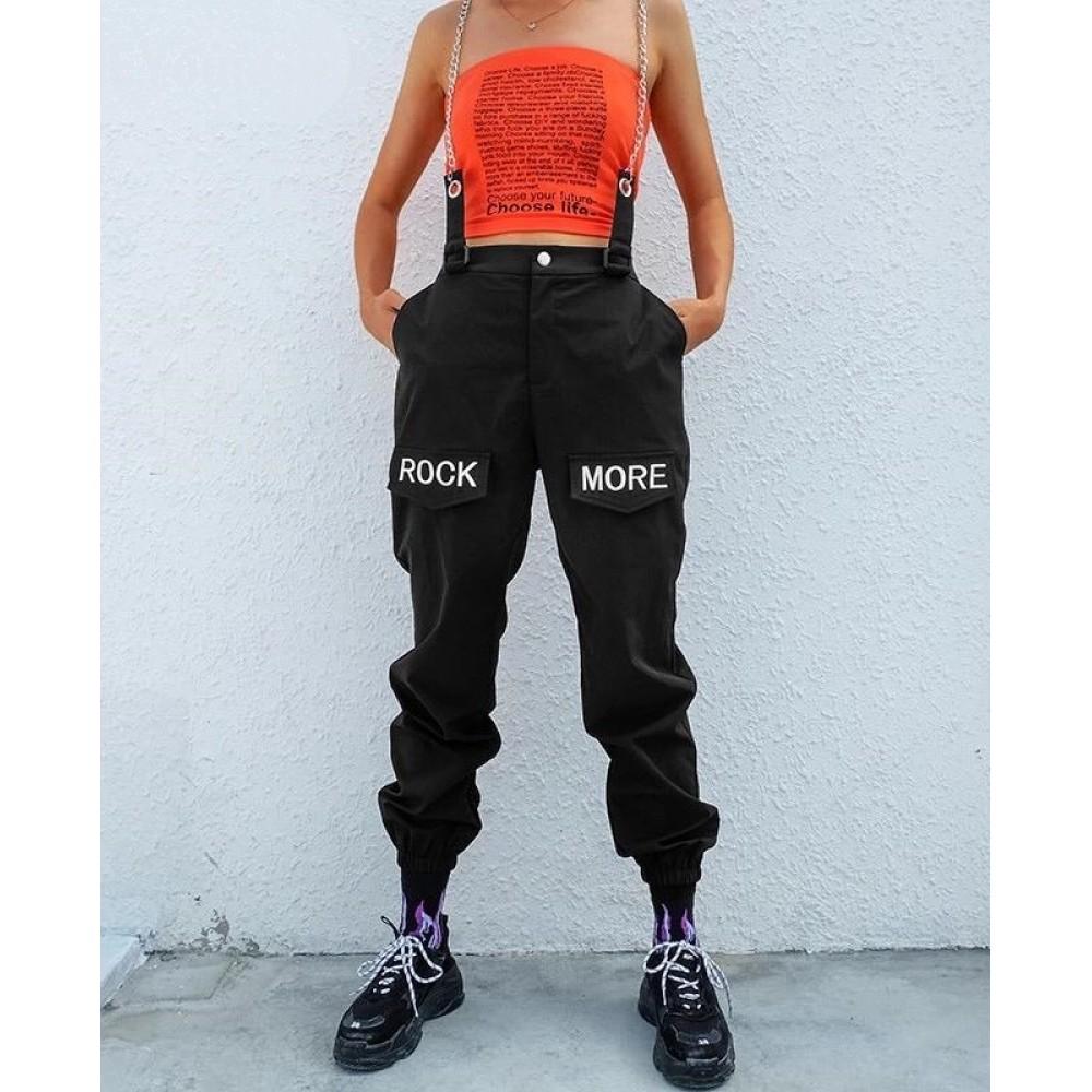 Pantaloni Negri Rock More